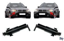 Set of 2 Driver and Passenger Side Headlight Washer Nozzles for 2007-2013 BMW E70 X5
