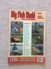 Big Fish World Number 2 Two  Magazine Autumn 1990 Edited By Kevin Clifford