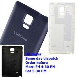 Rear Battery Back Cover Door Housing for Samsung Galaxy Note 4 N910 SM-N910