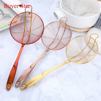 Stainless Steel Soup Spoon Cooking Skimmer Colander Filter Strainer Kitchen Tool