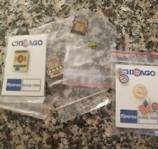 6 × Chicago Cubs Vintage Pin new.
