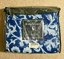 Ralph Lauren Comforter Cover - 'Persimmon Floral' Pattern - Twin Size - New