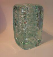 VIZNER vase WHIRLPOOL czech glass Skrdlovice  Bohemia