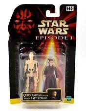 Star Wars Episode 1 - Queen Amidala with Bonus Battle Droid Action Figure Set
