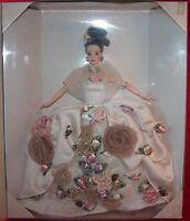 Mattel Antique Rose Barbie Limited Edition FAO Schwarz Fifth Avenue NRFB MIB