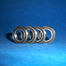 4 Kugellager R8 2RS / Zoll / Inch / 12,7 x 28,575 x 7,9375 mm