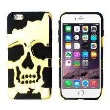 Metallische Handyhüllen & -taschen aus Silikon für das iPhone 6