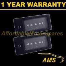 2x per AUDI A3 A4 A6 A8 S3 S4 S6 S8 ALLUMINIO 3 Bianco CREE LED Numero Targa Lampada