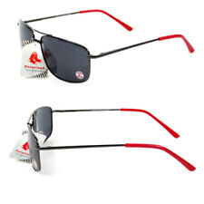 BOSTON RED SOX POLARIZED, PROTECTIVE, GUNMETAL AVAITOR SUNGLASSES