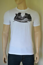 NEW Abercrombie & Fitch Pine Point Trail White Sneakers Trainers Tee T-Shirt XXL