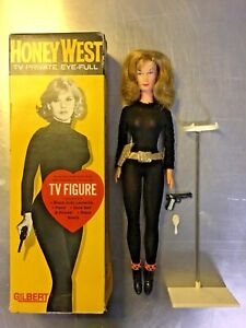 Vintage HONEY WEST Gilbert Doll 1965 James Bond TV Anne Francis Action Figure