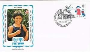 Envelop Jaar van het Kind 1979 - Andorra Spaans (139)