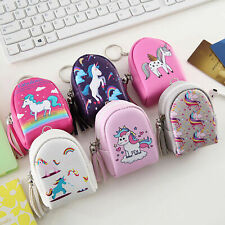 Small Girls Kid Cute Mini Wallets Coin Purse Zipper Card Bags Holder Gift School