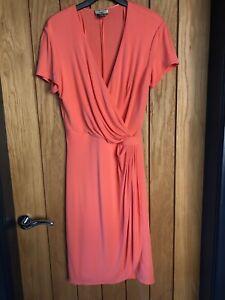 Stunning Issa London Dress Size 14 Coral
