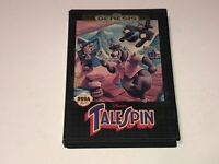 Disney's Talespin Sega Genesis w/Case Cleaned & Tested Authentic