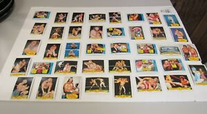 Topps 1985 WWF WWE Wrestling Lot of 39 Wrestling Cards