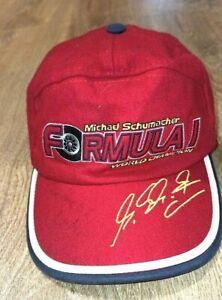Michael Schumacher Collection F1 World Champion 2000 Cap  Red RARE SMALL SIZE