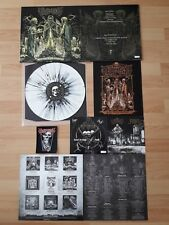 """REVEL IN FLESH – Relics Of The Deathkult 12"""" LP SPLATTER VINYL DIE HARD w/ PATCH"""