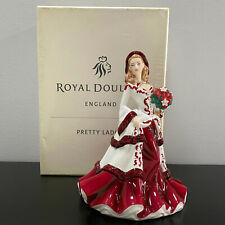 Royal Doulton Pretty Ladies Christmas Day 2008 Figurine Hn5209 Mib 8""