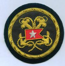 UK White Star Line RMS Titanic Ocean Liner Crest Anchor Uniform Officer Patch T