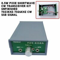 Unfinished DIY PIXIE Shortwave CW Transceiver Kit 7023KHz-7026KHz CW SSB Signal