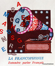 Yt 2347 A LA FRANCOPHONIE FRANCE FDC ENVELOPE PREMIER DAY