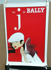 AFFICHE   ANCIENNE CHAUSSURES BALLY