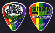 Faster Pussycat Xristian Simon Signature Rainbow Party Guitar Pick - 2