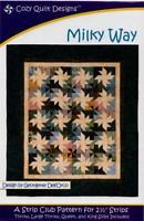 Milky way quilt pattern - cozy quilt design