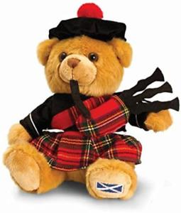Keel Toys Souvenir - Scottish Piper Hug Me Teddy Bear