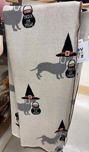 Halloween Dachshund Throw -Benefiting DACHSHUND RESCUE