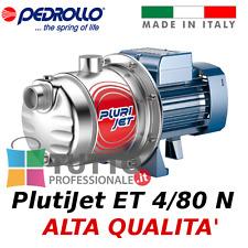 Pompa MULTIGIRANTE AUTOADESCANTE PLURIJETm 4/80 PEDROLLO per acqua pulita