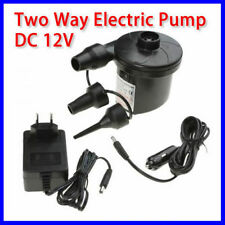 Fast Large Volume Bilateral Electric Air Pump Inflator Easy Camping Home/Car Use