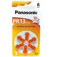 6x Piles Panasonic PR13 PR48 Piles Ecouteurs AC13 13AU ZA13
