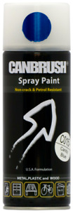 Canbrush C015 Candy Blue Spray Paint 400ml Metal Plastic Wood Candytone Finish