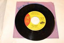 45 RPM Record THE CRYSTALS He's A Rebel / It Felt Like A Kiss VINYL NM Mono
