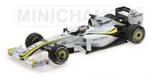 BRAWN GP BGP001 JENSON BUTTON WORLD CHAMPION 2009 MINICHAMPS 186090022 1/18 NEW