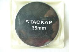 55mm Metal Screw-in Stack Cap Protect Store Filter Case Solid Aluminum 55