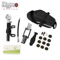 Tyre Repair Kit For Bike With High Pressure Gauge 210 PSI Mini Pump And Tool
