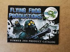 FLYING FROG PRODUCTION SUMMER 2016 PRODUCT CATALOG