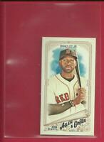 Jackie Bradley Jr 2018 Topps Allen & Ginter MINI Card # 254 Boston Red Sox MLB