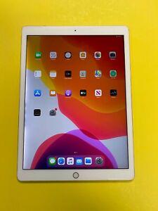 Apple iPad Pro 2nd Gen 512GB Wi-Fi + 4G (Unlocked) 12.9 in Silver - LCD DISCOLOR