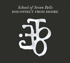 School of Seven Bells: Disconnect from Desire (new and sealed CD)