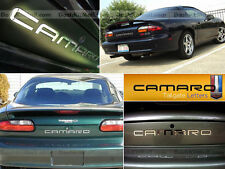 CHEVROLET CAMARO 92 93 94 95 96 97 - 2000 01 02 CHROME REAR LETTERS NOT DECALS