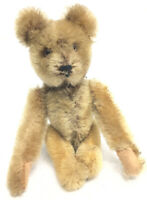 Vintage STEIFF Toy Mini Teddy Bear Wind Up Mechanical Somersault Acrobatic
