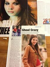 Michelle Trachtenberg, Lot of TWO Full and Two Page Clippings