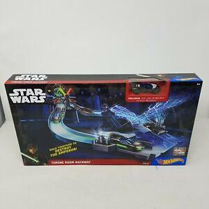 Hot Wheels Star Wars Throne Room Raceway Car Tracks System CGN44 Exclusive Jedi