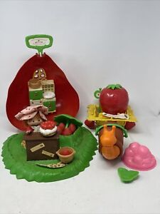 Doll Playset Accessory Vintage Strawberry Shortcake Dolls For Sale In Stock Ebay