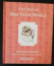 Beatrix Potter Peter Rabbit The Tale Of Mrs. Tiggy Winkle Hardback Book