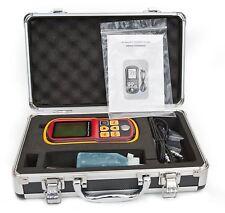 DecentGadget® Ultrasonic Thickness Meter Tester Gauge Velocity 1.2~225mm Metal